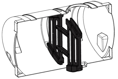 New Optional Baffle Kit For 1000 Gallon Elliptical Tank