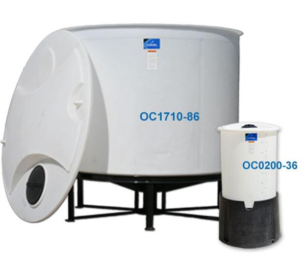 Open Top Cone Bottom Tanks