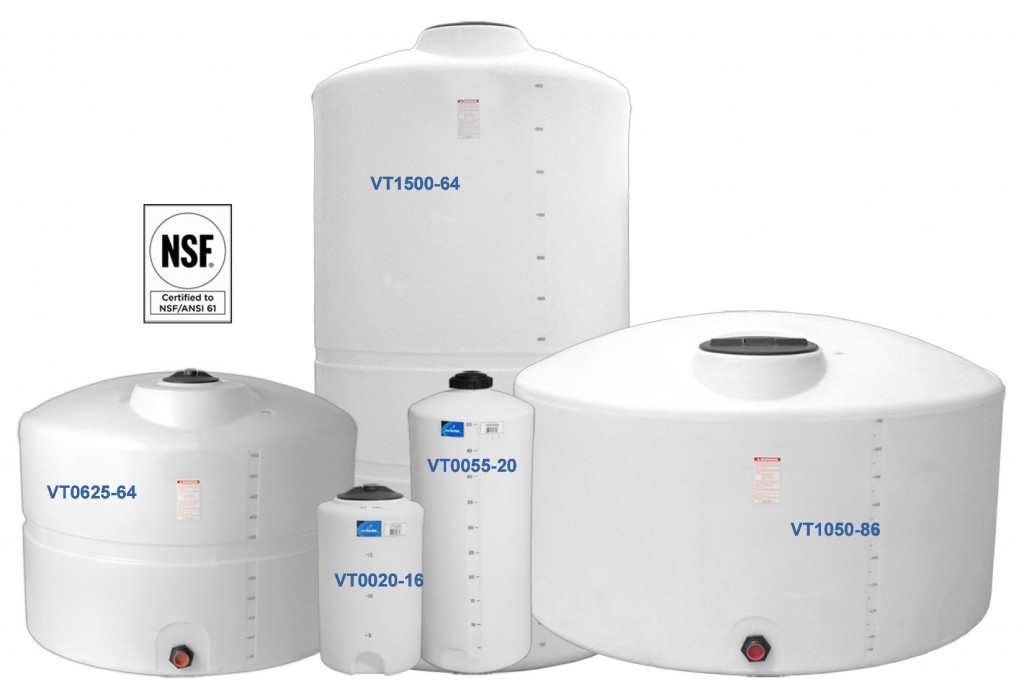 Vertical Tanks – Dome Top